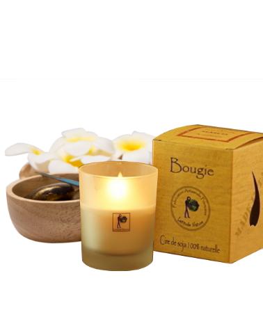 """Bougie 100 % naturelle aux huiles essentielles bio - """"Anti-tabac"""" - bougie - La Bougie Qui Fait Du Bien"""