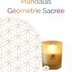 Coffret bougie Mandala