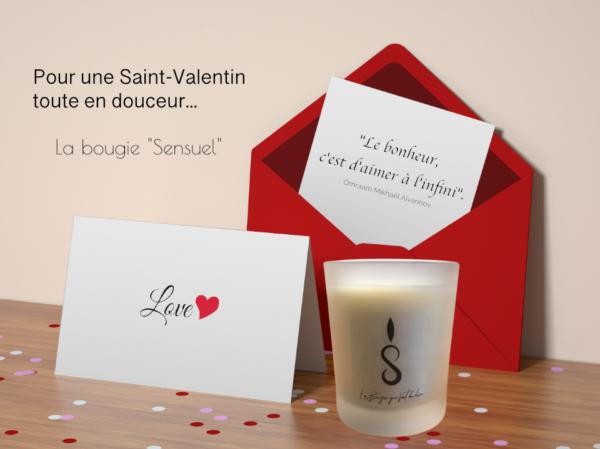 La Bougie de la Saint-Valentin - bougie - La Bougie Qui Fait Du Bien